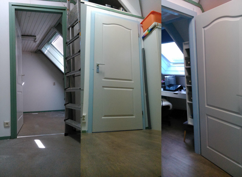 Slaapkamerdeur Ikea : De meubelen zijn van Ikea (op de kist na) en de accessoires zijn ook