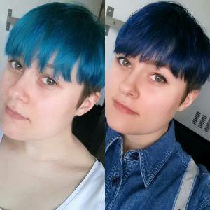Nieuw Reacties op mijn blauwe haar – Mijn Eigen Wereldje NH-35